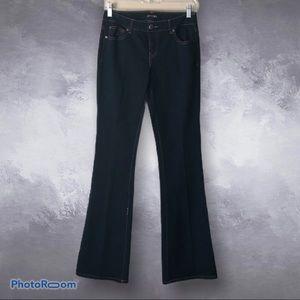 COPPER KEY | Dark Wash High Waisted Boot Cut Jeans